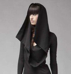 The Dalton Hoodie Dress by Kimberley Ovitz is Modern & Religious #fashion trendhunter.com