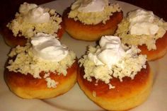 Jak udělat pravé bavorské vdolečky   recept Czech Recipes, Russian Recipes, Modern Food, Healthy Cake, Ham, Food To Make, Sweet Tooth, Cheesecake, Muffin