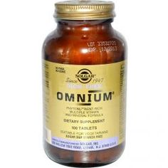 Solgar, Omnium, Multiple Vitamin And Mineral Formula, Iron-Free, 100 Tablets, Diet Suplements 蛇
