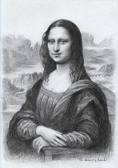 Portrait of Margarete van Eyck parody Bts Drawings, Cool Drawings, Mona Lisa Drawing, Mona Lisa Portrait, Egyptian Tattoo Sleeve, Mona Lisa Parody, Renaissance Artists, Portrait Sketches, Girl Sketch