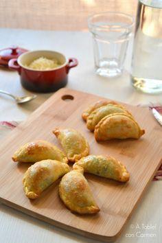 Empanadas de Queso, Cebolla y Wakame