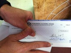 I've won the Publisher's Clearing House!  Just waiting for the check to arrive!!!