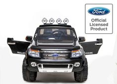 Licensed Ford Ranger -12v Kids Electric Ride on Jeep - Special Black - http://www.duplay.co.uk/buy/licensed-ford-ranger-12v-kids-electric-ride-on-jeep-special-black_867.htm