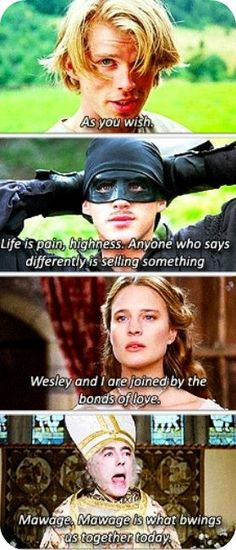 Princess Bride Quotes The Princess Bride Best Quote Ever Julie Forrest Forrest Buzzard