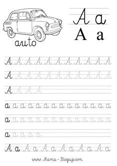 Tracing Letters, Coloring Pages, Kindergarten, Preschool, Classroom, Teaching, Activities, Lettering, Kids