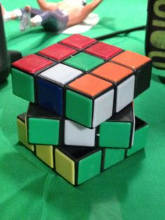 Factoid: If done perfectly, any Rubick's Cube combination can be solved in 17 turns.