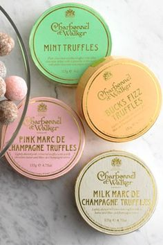 The packaging is beautiful and I'm sure the truffles are delicious as well.
