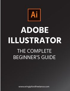 This PDF eBook includes 37 pages of my written guidance for everything a complete beginner will need to know in order to function and start creating vector graphics with Adobe Illustrator. Web Design Tips, Graphic Design Tutorials, Design Strategy, Web Design Inspiration, Tool Design, Design Design, Vector Design, Design Elements, Adobe Illustrator Tutorials