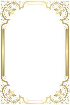 Border Frame Transparent Clip Art Clip Art Frames Borders Frame Border Design Page Borders Design