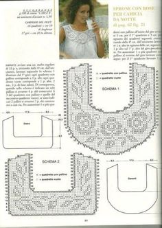 schemi gratuiti per realizzare camicie da notte romanticissime con applicazioni a uncinetto (2)