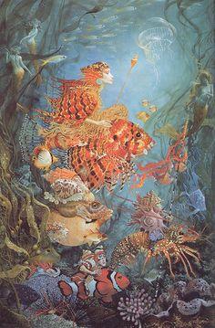 james christensen   fantasies of the sea