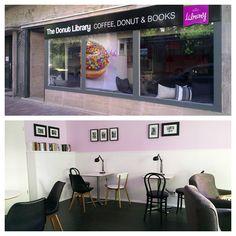 Az olvasás hizlal? Donut Library
