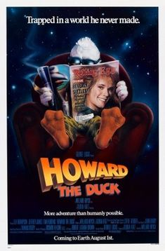 Howard the Duck (1986) movie #poster, #tshirt, #mousepad, #movieposters2