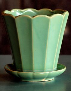 McCoy pottery planter