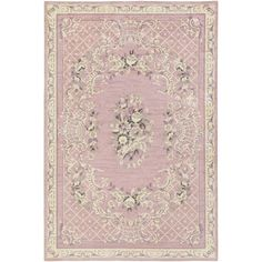 Artistic Weavers 4 x 6 ft. Rectangle Madeline Gianna Machine Made Area Rugs - Light Pink & Mauve, As Shown Modern French Country, French Country Bedrooms, French Country Decorating, Country Style, Rug Studio, Traditional Area Rugs, Do It Yourself Home, How To Clean Carpet, Shabby Chic Furniture