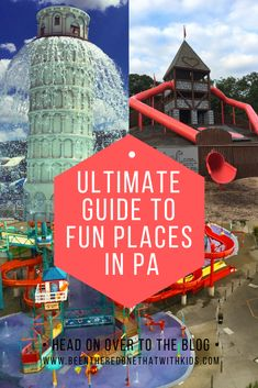 This is the only guide you need to everything fun there is to do in Pennsylvania. Indoor play places, amusement parks, water parks, resorts and more! Check out this guide and have a blast with your family in Pennsylvania! Travel With Kids, Family Travel, Indoor Play Places, On The Road Again, All I Ever Wanted, Vacation Trips, Family Vacations, Cruise Vacation, Disney Cruise