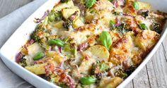 Aardappelgratin, heerlijk! Of het nu koud of warm weer is het is altijd lekker om een aardappel ovenschotel te eten. Dit recept met broccoli is een