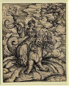 Hans Burgkmair the Elder (1473–1531) - The Whore of Babylon 1523