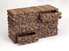 Mobili in ecodesign in legno WoodenHeap