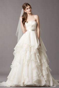 Watters Brooke Wedding Gown. As seen in our DIY Texas Bride wedding. Do you love?