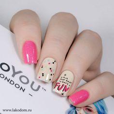 diseños de uñas juveniles #unasesculpidas
