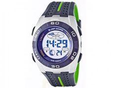 Relógio Masculino Surf More 1817451M Digital - Resistente à Água com Cronógrafo e Calendário