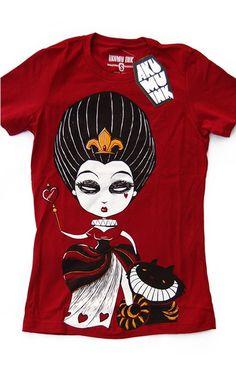 Akumu Ink Queen of Hearts Women's Tee