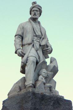 Statue of Ferdowsi, Tehran, Iran