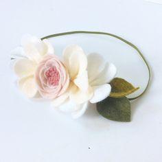 Ballerina Pixie // Felt Flower Crown // Pixie Crown // Fancy