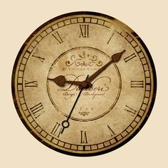Learn how to create an aged vintage clock design with lots of detail, rusty mechanics and distressed imprint in Photoshop.
