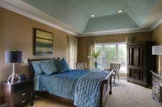 Soothing colors make this Master Bedroom #schumacherhomes Visit a Design Studio nearest you www.schumacherhomes.com/location.