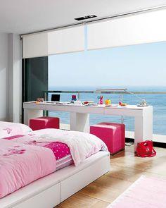 Romana: Também chamada de persiana romana é mais elegante que a persiana, compõe ambientes modernos, podendo ser usada em salas de estar.