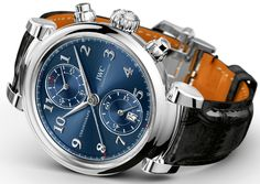IWC Da Vinci Chronograph & Da Vinci Tourbillon Rétrograde Chronograph Watches Watch Releases http://amzn.to/2sqEwBW