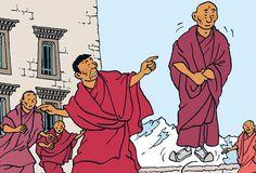 As Aventuras de Tintin - Tintin no Tibete