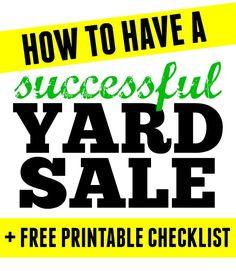 Gimmie 39 S Top 10 Yard Sales Tips Printable Garage Sale