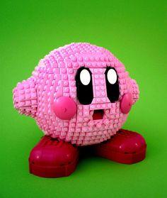 Lego-Kirby by Swan Dutchman