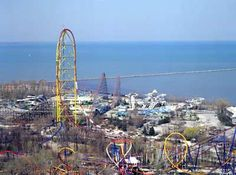 Cedar Point  Sandusky, OH - I miss CP! Use to go almost every summer. Now I havent been in about 5 years!