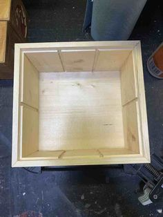 The process of building a box that carries 6 Magic The Gathering Deck Boxes. Wood Glue, Magic The Gathering, Wooden Boxes, Divider, Deck, Building, Blog, Wood Boxes, Wooden Crates