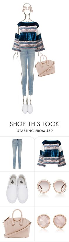 """Hints of Pink"" by katsin90 ❤ liked on Polyvore featuring Alexander Wang, See by Chloé, Vans, Chloé, Givenchy and Monica Vinader"