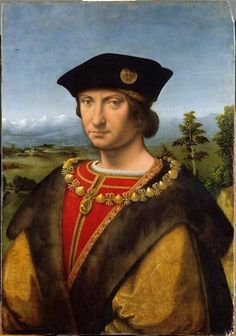 Portrait de Charles II d'Amboise (1473-1511)