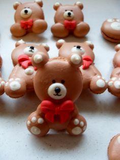 Cute Bear Macarons <3