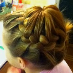My friend did this to my hair!!