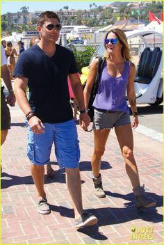 Jensen and Danneel in La