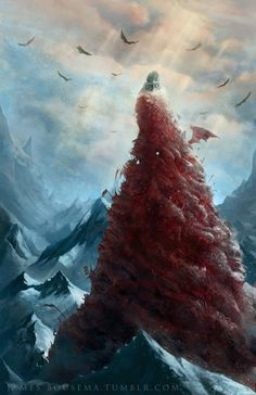Winter Has Come, James Bousema on ArtStation at https://www.artstation.com/artwork/ellob