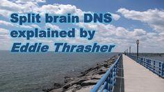 Split brain DNS explained.