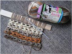 broomstick crochet - Varrasvirkkaus, puikkovirkkaus, lastavirkkaus broomstick crochet