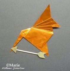 Mockingjay Hunger Games Origami