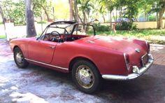 1962 Alfa Romeo Giulietta Spider Veloce Project - http://barnfinds.com/1962-alfa-romeo-giulietta-spider-veloce-project/