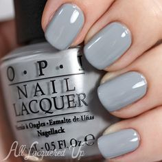 Opi cement the deal nail color. opi nails, gray nails, spring and Grey Nail Polish, Gray Nails, Neutral Nails, Neutral Colors, Opi Nail Polish Colors, Toe Nail Color, Polish Nails, Nail Polishes, Gel Nail