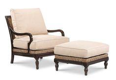 miles talbott furniture: St. Baart /  RATT-495-C chair